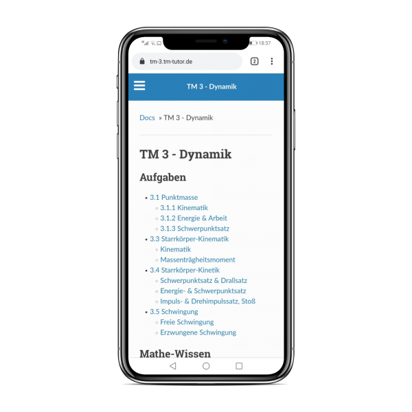 TM 3 - Dynamik 5